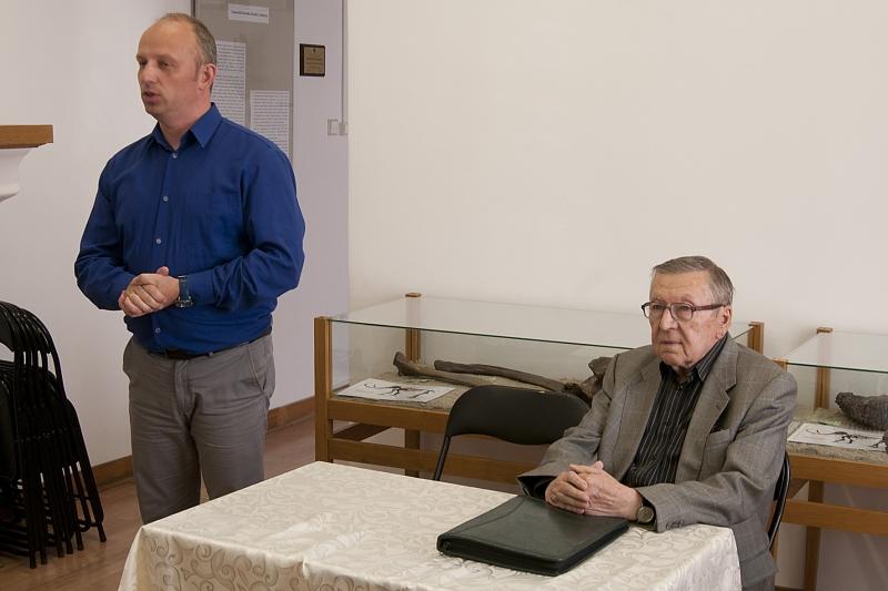 Spotkanie nauczycieli z Panem Longinem Kowalczykiem