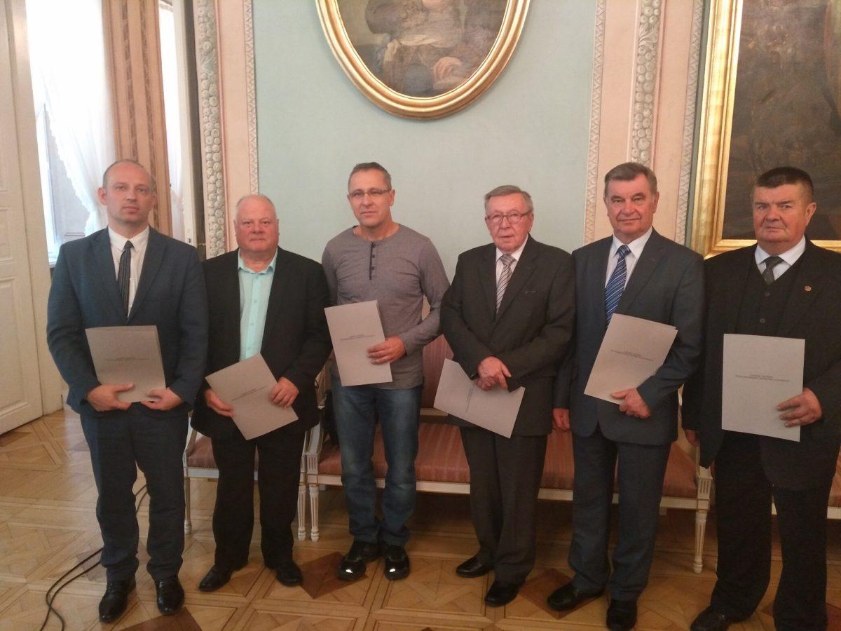 Udział delegacji Powiatu Łukowskiego w jubileuszu 50-lecia Stowarzyszenia Twórców Ludowych w Lublinie