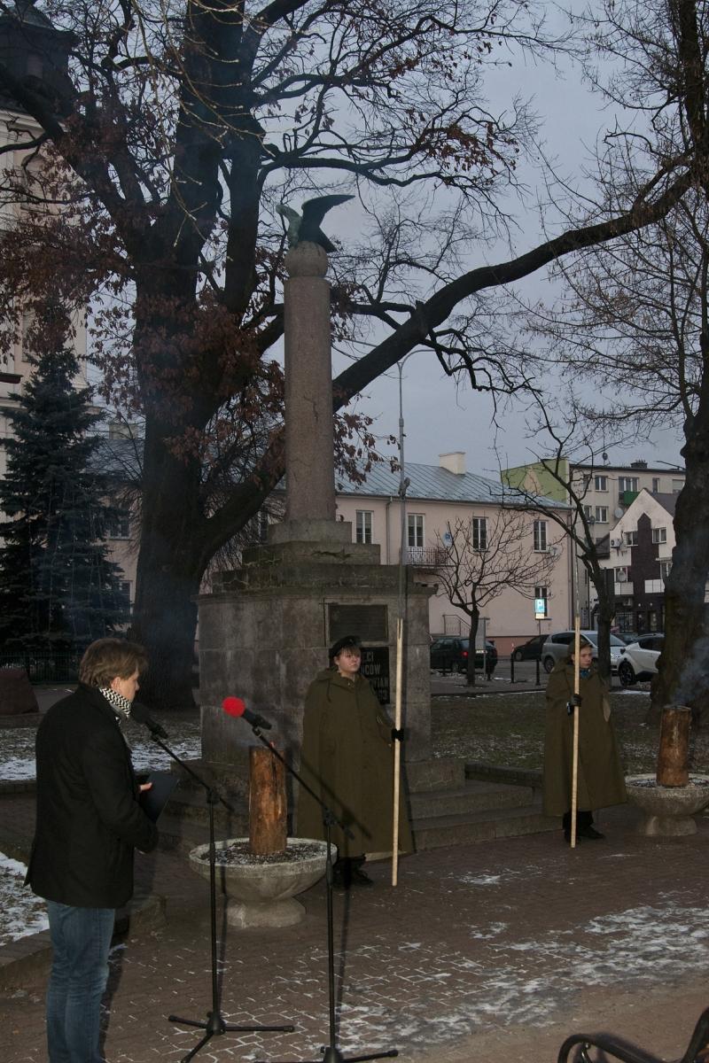 Obchody 156. Rocznicy Wybuchu Powstania Styczniowego w Łukowie
