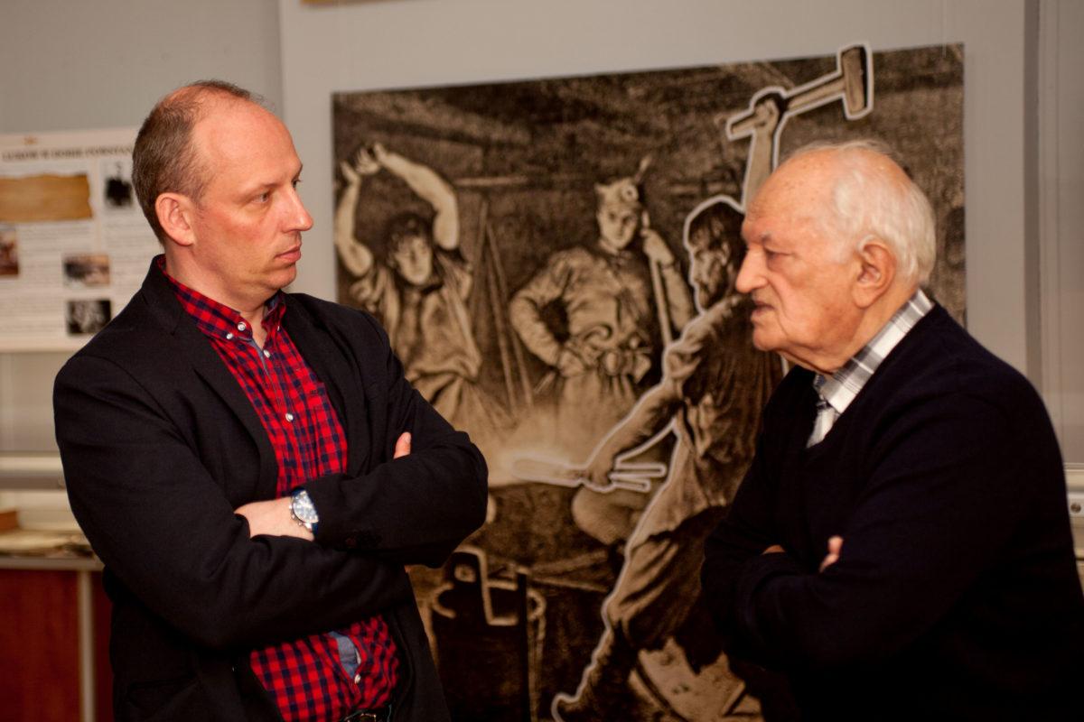 Powrót do przeszłości – wizyta Ryszarda Kaniewskiego w Muzeum Regionalnym w Łukowie