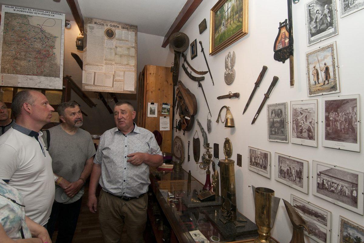 Z wizytą w Muzeum Historii i Tradycji Waldemara Kosieradzkiego w Łosicach